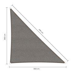 Sunfighters dreieck 90 Grad Grau 3x3x4,2