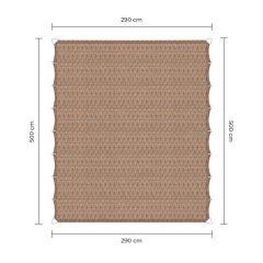 Sunfighters Faltsonnensegel Sand 2,9x5